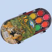 Acuarele 16 culori ovale centrum zoo