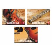 Caiet pt. muzica, 17 x 24cm, 24 file, PIGNA Classic