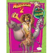 Madagascar 2. Carte de colorat