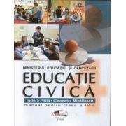 Educatie civica. Caietul elevului. Clasa a IV - a