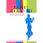 Femei celebre din Romania