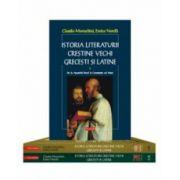 Pachet Istoria literaturii crestine vechi, grecesti si latine Vol I-III
