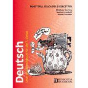 Deutsch. Limba germana. Manual pentru clasa a VII - a