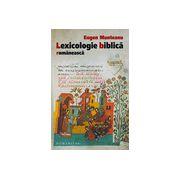 Lexicologie biblica romaneasca