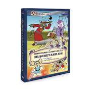 Uimitoarele aventuri ale muschetarilor. Victor Antonescu DVD