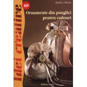 Ornamente din panglici pentru cadouri. Idei creative 69