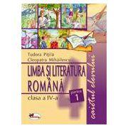Limba si literatura romana. Caietul elevului. Clasa a IV - a. Sem I