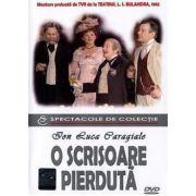 O scrisoare pierduta. I. L. Caragiale DVD