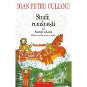 Studii romanesti Vol II