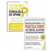 1+1 CADOU! Descopera-ti punctele forte cu testul Clifton + Cat de mult conteaza sondajele de opinie?