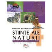Stiinte ale naturii. Manual pentru clasa a IV - a