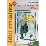 Imitatii de vitralii Tiffany. Idei creative 14
