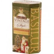 BASILUR VINTAGE STYLE. CEYLON GREEN FRUIT TEA
