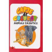 CARTE DE COLORAT ANIMALE SALBATICE