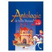 Antologie de texte literare. Claseele I-IV