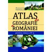 Atlas de geografie a Romaniei pentru clasa a IV-a