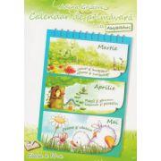 Calendar de primavara cu abtibilduri Clasa a IV - a