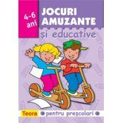 JOCURI AMUZANTE SI EDUCATIVE 4-6 ANI