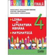 LIMBA SI LITERATURA ROMANA. MATEMATICA. CLASA A 4 - A