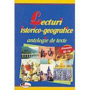 Lecturi istorico-geografice - antologie de texte