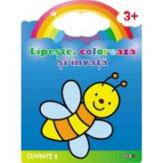 Lipeste, coloreaza si invata