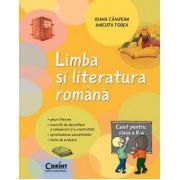 Limba si literatura romana. Caiet pentru clasa a II - a