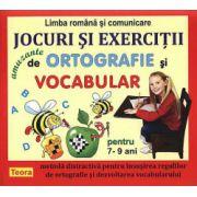 JOCURI SI EXERCITII DE ORTOGRAFIE SI VOCABULAR