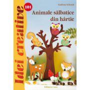 ANIMALE SALBATICE DIN HARTIE. IDEI CREATIVE 101