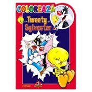 COLOREAZA CU TWEETY SI SYLVESTER 2
