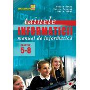 TAINELE INFORMATICII. MANUAL DE INFORMATICA CLASELE 5-8