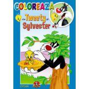 COLOREAZA CU TWEETY SI SYLVESTER 3