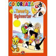 COLOREAZA CU TWEETY SI SYLVESTER 4