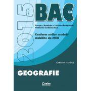 BAC 2015 - GEOGRAFIE