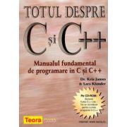 TOTUL DESPRE C SI C ++