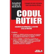 CODUL RUTIER. ACTUALIZARI IN DATA DE 08.08.2013