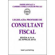 LEGISLATIA PROFESIEI DE CONSULTANT FISCAL