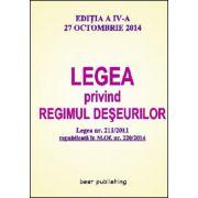 LEGEA PRIVIND REGIMUL DESEURILOR