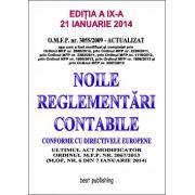 NOILE REGLEMENTARI CONTABILE CONFORME CU DIRECTIVELE EUROPENE