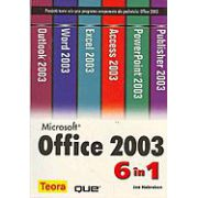 MICROSOFT OFFICE 2003 6 IN 1