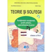 TEORIE SI SOLFEGII CLASA A IV - A