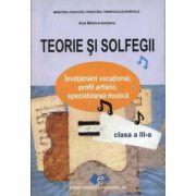 TEORIE SI SOLFEGII CLASA A III - A