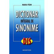 DICTIONAR INTEGRAL DE SINONIME