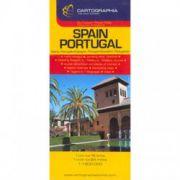 HARTA SPANIA PORTUGALIA