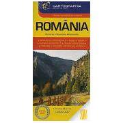 HARTA TURISTICA SI RUTIERA. ROMANIA