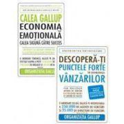 Pachet 'Descopera-ti punctele forte in domeniul vanzarilor'. Calea Gallup - economia emotionala. Calea sigura catre succes.