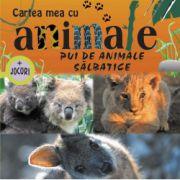 CARTEA MEA CU ANIMALE. PUI DE ANIMALE SALBATICE