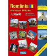ROMANIA. ATLAS RUTIER