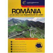 ATLAS RUTIER SI TURISTIC. ROMANIA