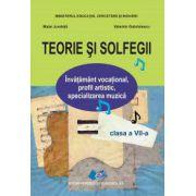 TEORIE SI SOLFEGII CLASA A VII - A