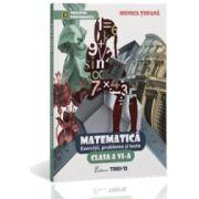 Matematica - exercitii, probleme si teste clasa a-VI-a